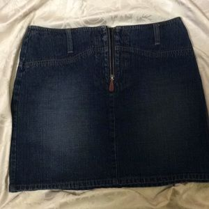 Ralph Lauren Sz 6 Denim Mini Skirt
