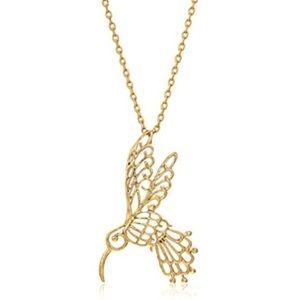 kate spade // delicate hummingbird necklace