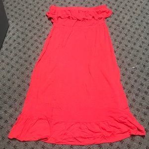Old Navy pink/Red Dress