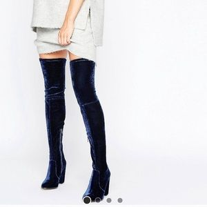 Asos over knee boots