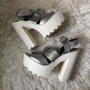 Wild Diva Platform Heels