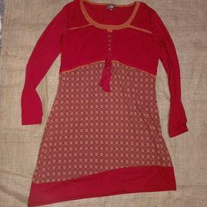 Peasant style dress
