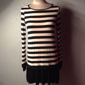 comfy TOPSHOP mini dress tunic top jersey S (D3)