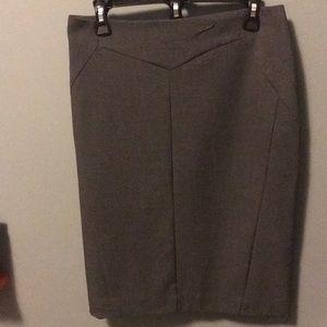 Grey skirt size 12 Worthington