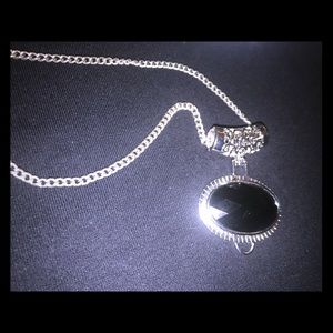 Jewelry - Silver and black chain and bracelet