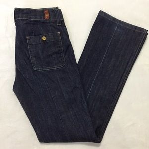 7FAMK Margot Straight Leg Denim Jeans
