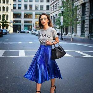 Anthropologie HD in Paris Gemma Pleated Skirt