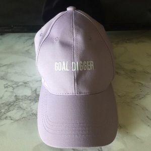 Lavender Goal Digger Hat