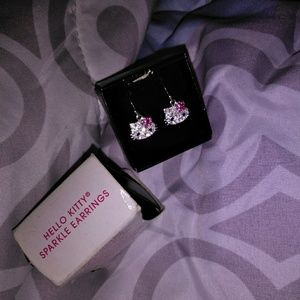 Hello Kitty® Sparkling Earrings