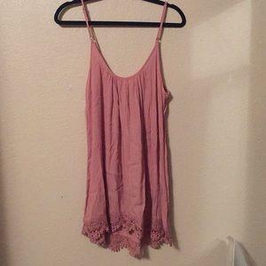 Forever 21 pink dress