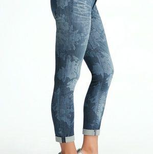 Bebe floral Jeans
