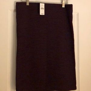 Loft pull on pencil skirt