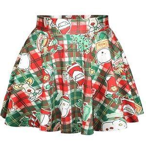 Dresses & Skirts - Green flared holiday skirt