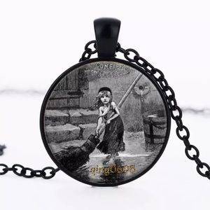 Les Miserables Cosette Glass & Alloy Necklace