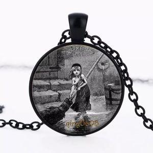 Les Miserables Cosette Glass & Alloy Necklace