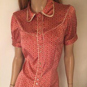 Cute Bebe blouse size med. NWOT