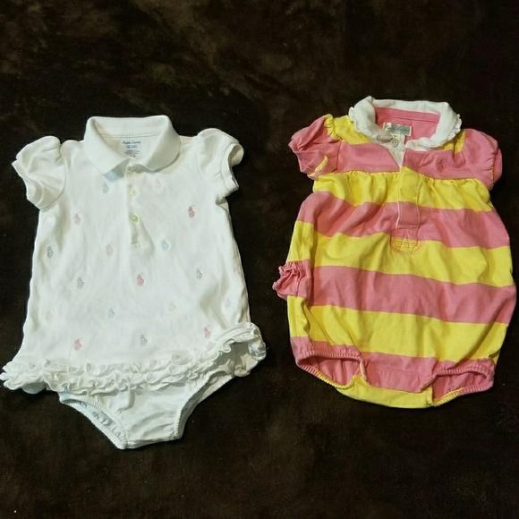Outfits & Sets Ralph Lauren Toddler Girl Dress Set Size 12 Months