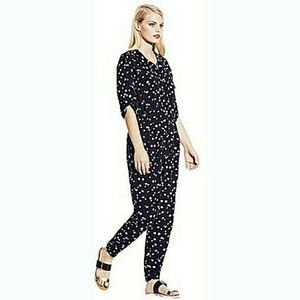 Feathered Dash 3/4 Sleeve Utility Jumpsuit #191