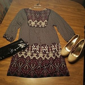 NWOT Patterned tunic/dress - Nordstrom