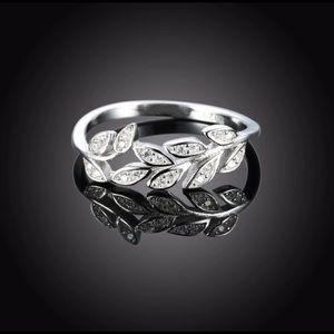 Trendy Olive Branch Ring