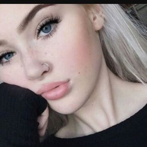 Silver Faux Nose Ring