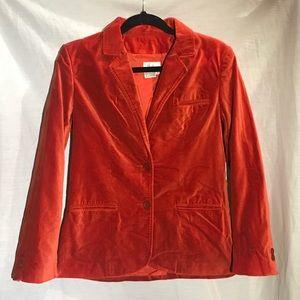 Vintage Millers Velvet Blazer 100% Cotton