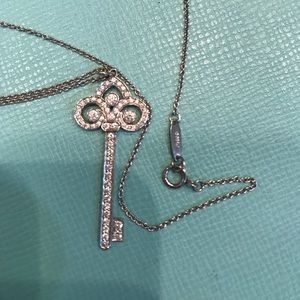 Authentic Tiffany Key Necklace