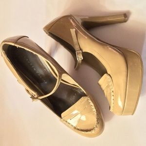LC Lauren Conrad Platform Penny Loafer High Heels