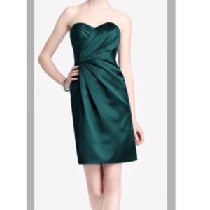 Davids bridal green dress