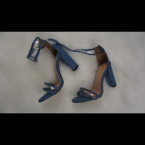 Shoes - Denim Heels