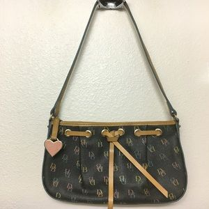 [Dooney and Bourke] Multi-colored Monogram Purse
