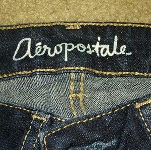 Aeropostal blue skinny jeans 00S