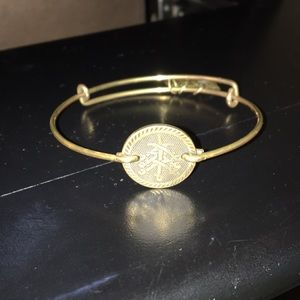 Alex and Ani 7 swords bracelet