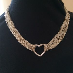 Kristin Davis Silver Necklace.