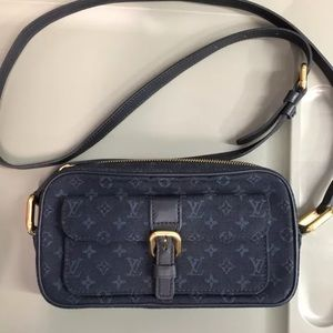 Louis Vuitton denim crossbody bag