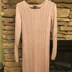 The Limited: Cozy Cable Sweater Dress