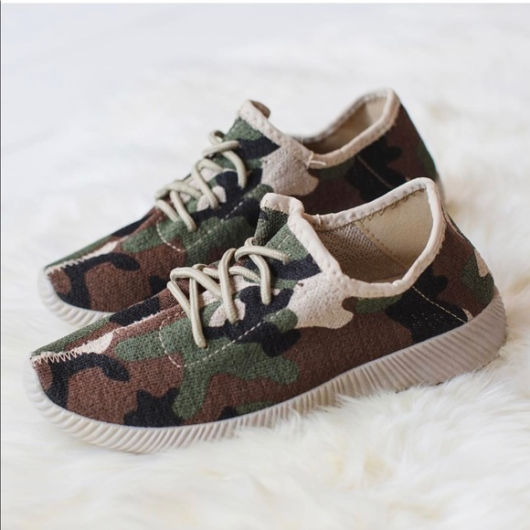 Camo Sneakers Camouflage Tennis Shoes