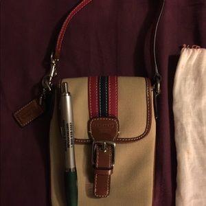 Coach purse/clutch