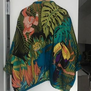 Excellent Condition Vintage Silk Kimono Jacket
