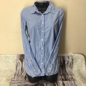 Haberdashy J. Crew pinstripe button down shirt