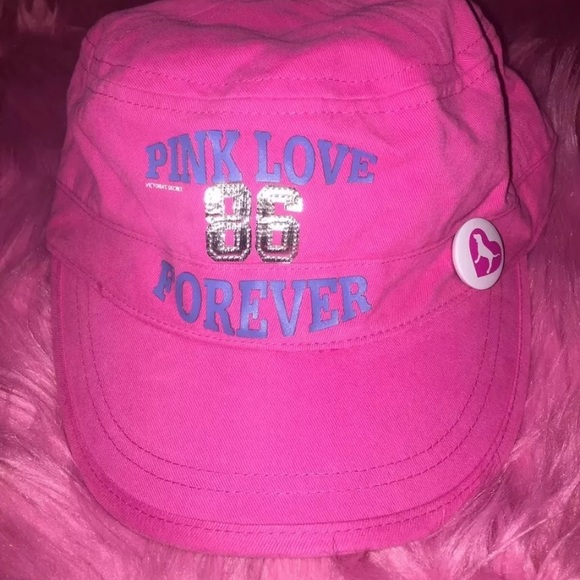 05ce026ff5b Victoria s Secret PINK Love Forever Ball Cap Hat.  M 5a2e81d98f0fc40907037332. Other Accessories ...