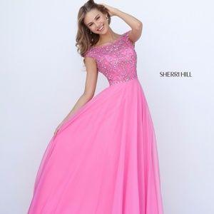 SHERRI HILL 50849 Pink Prom Dress/Gown