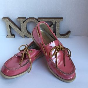 KIDS leather Sperry