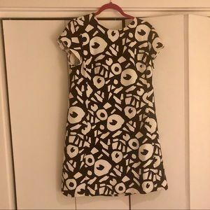 Blue/White Loft Dress size 12