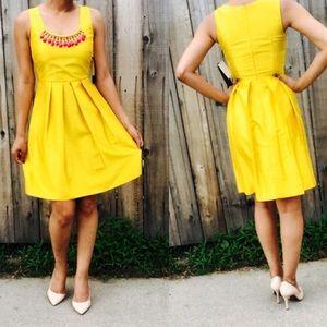 NWT Miss Sixty M60 yellow cocktail dress 8