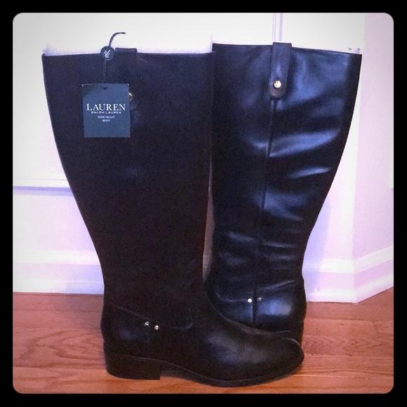 c39c10b4a Lauren Ralph Lauren Shoes   Nwt Ralph Lauren Masika Wide Calf   Poshmark