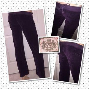 Juicy Couture Velour Pants Petite XS