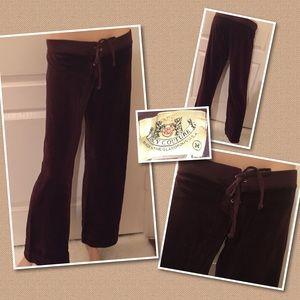 Juicy Couture Velour pants MEDIUM