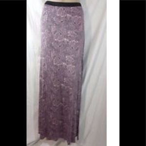 Free People long skirt with side split Size S EUC