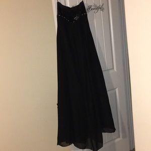 Dresses & Skirts - Black custom prom dress